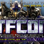 TFcon 10th anniversary dates announced: July 27 – 29th, 2012