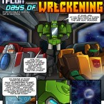 TFcon 2012 Live Script Reading Prelude Comic