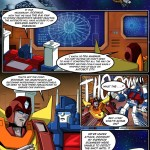 TFcon 2013 Live Script Reading Prelude Comic Book