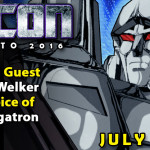 Frank Welker the voice of Megatron at TFcon Toronto 2016