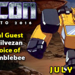 Dan Gilvezan the voice of G1 Bumblebee to attend TFcon Toronto 2016