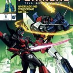 Transformers: TILL ALL ARE ONE #1 Exclusive Variant cover at TFcon