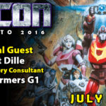 Transformers Writer Flint Dille to attend TFcon Toronto 2016