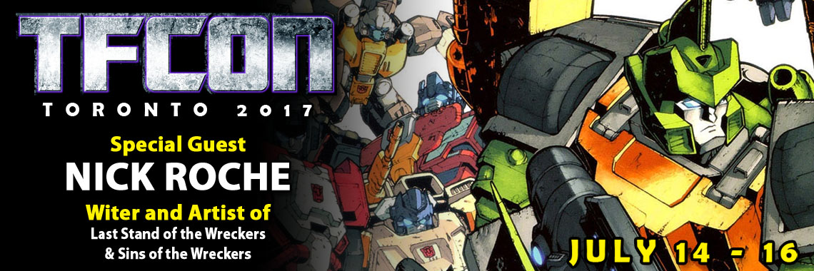 Transformers Artist Nick Roche to attend TFcon Toronto 2017
