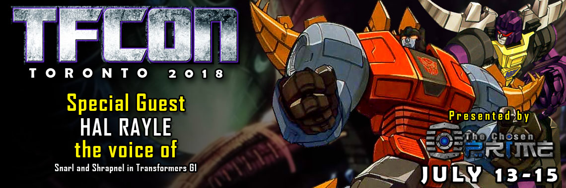 Transformers Voice Actor Hal Rayle to attend TFcon Toronto 2018