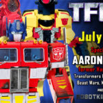 Transformers Designer Aaron Archer to attend TFcon Toronto 2019
