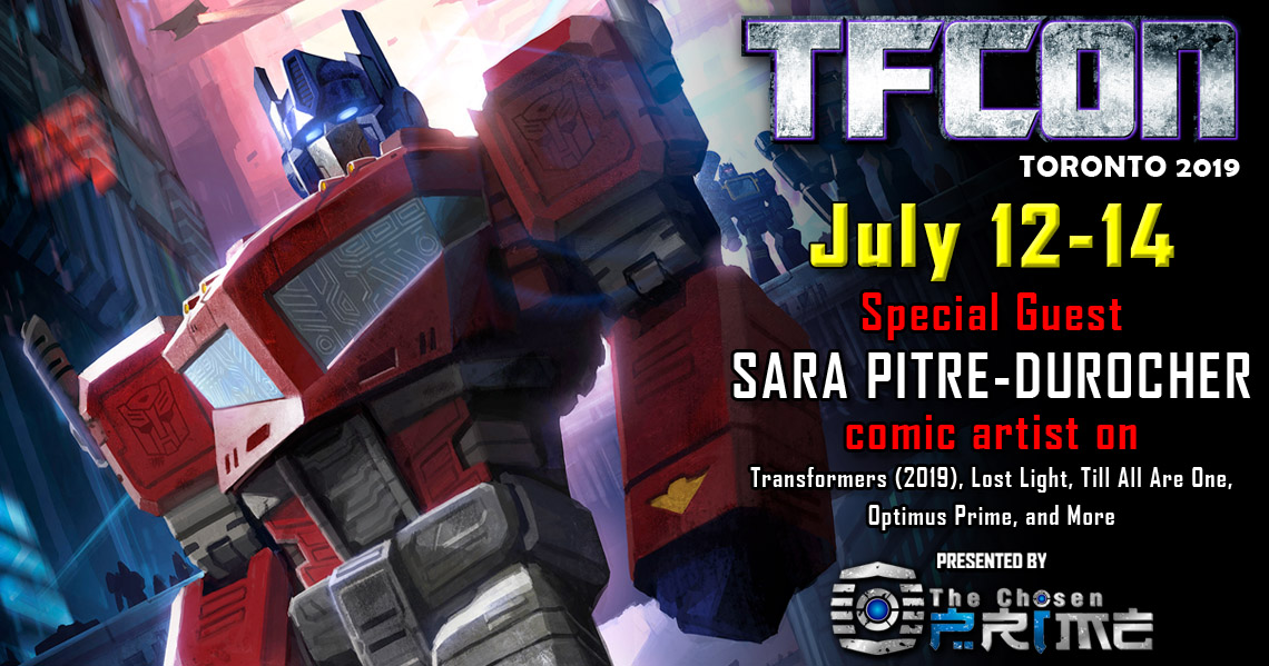 Transformers artist Sara Pitre-Durocher to attend TFcon Toronto 2019