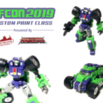 TFcon Toronto 2019 custom class figure Broken Mirror Grouch