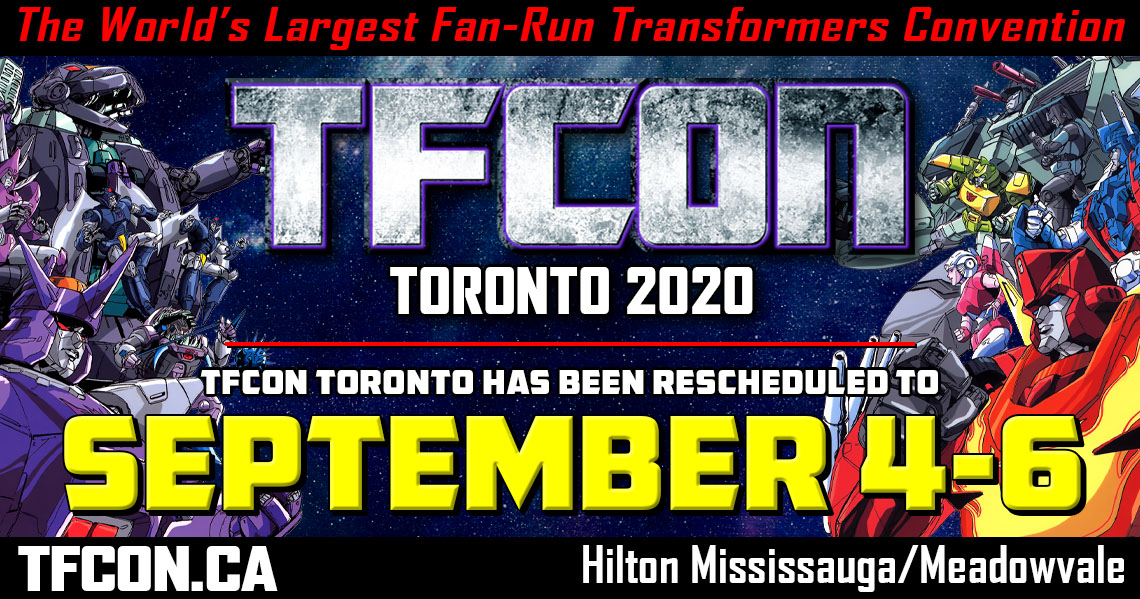 TFcon Toronto 2020 rescheduled to September 4-6